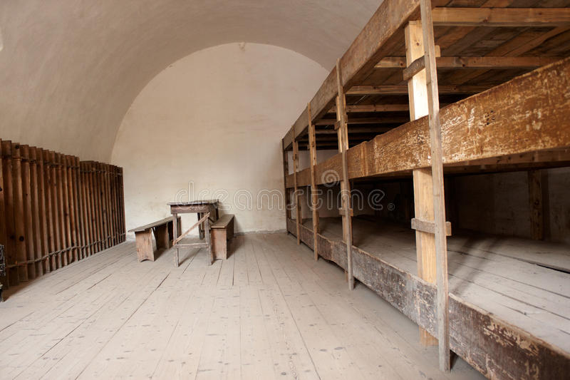 Download A Bedroom In A Concentration Camp Stock Photo - Image of indoors, vacant: 28020246