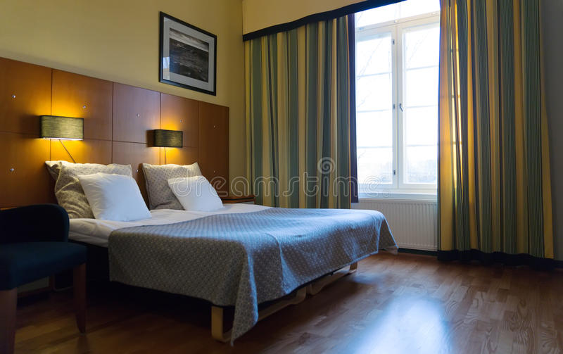 Download Bedroom with double bed stock image. Image of interior - 35782953