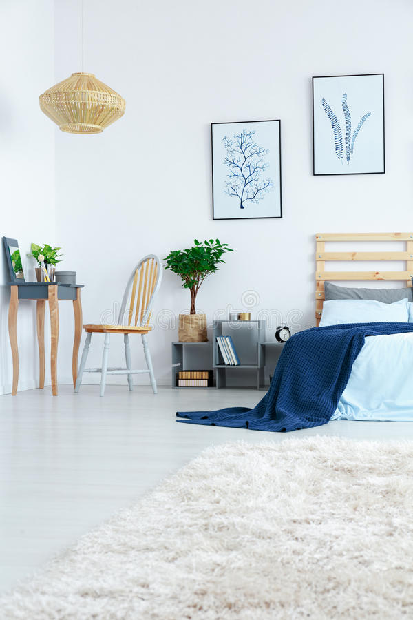 Bedroom with dressing table royalty free stock images
