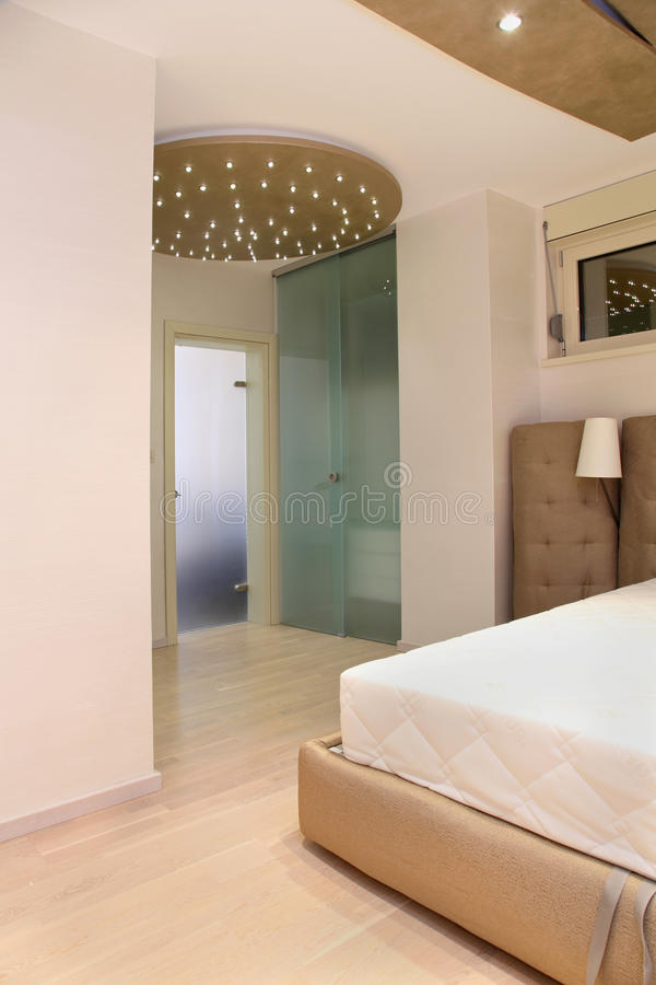 Bedroom entrance royalty free stock photos