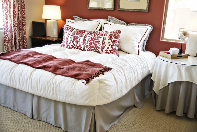 Bedroom furnishings royalty free stock photos