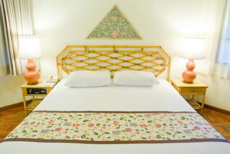 Download Bedroom In Hotel Royalty Free Stock Photography - Image: 28606657