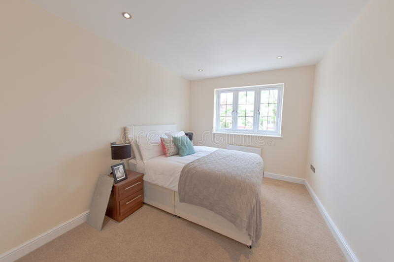 Bedroom in house royalty free stock images