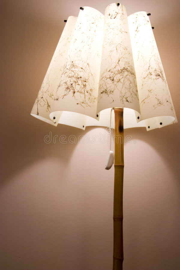 Download Bedroom lamp stock photo. Image of shade, wall, shadow - 3814052