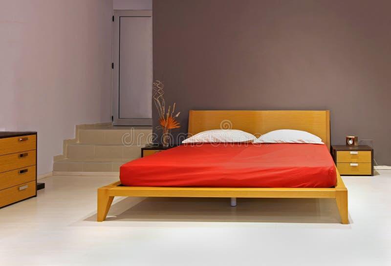 Bedroom modern stock photo
