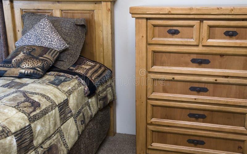 Bedroom set royalty free stock photos