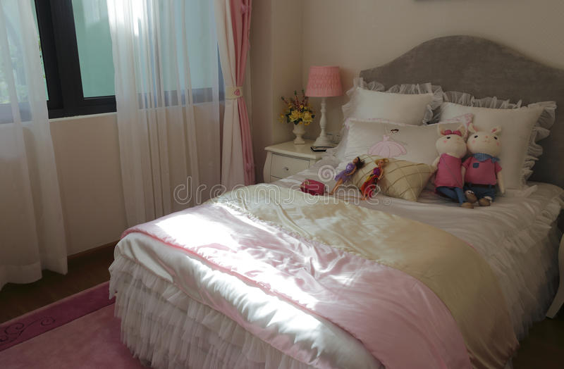Bedroom royalty free stock photography