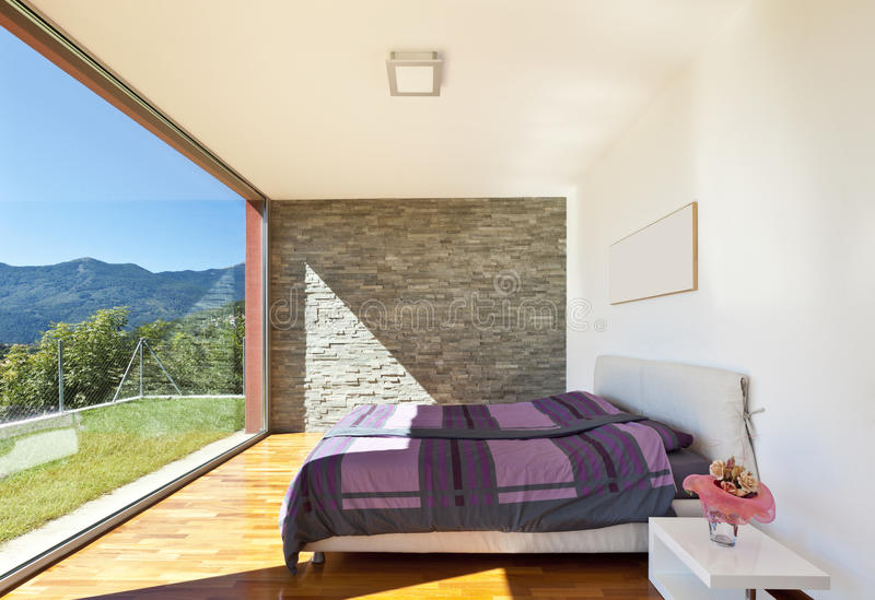 Bedroom view royalty free stock images