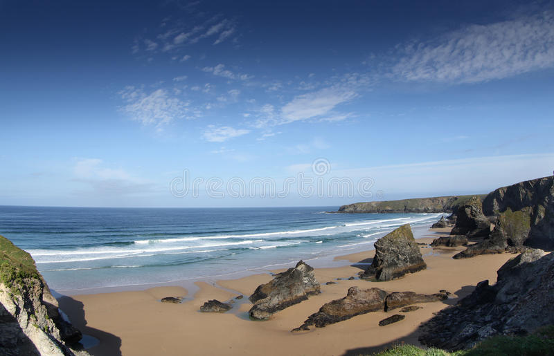 Bedruthan Royalty Free Stock Image