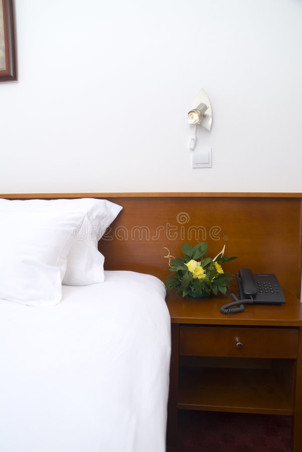 Bedside table stock images