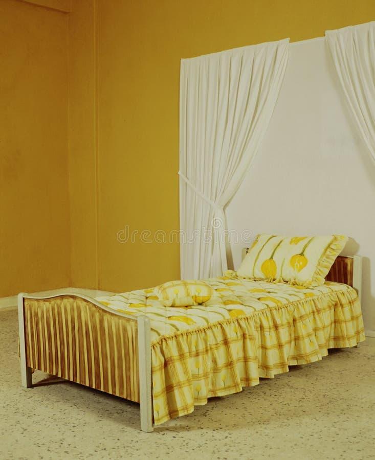 Bedspread ustawia w różnorodnych kolorach i wzorach zdjęcia stock