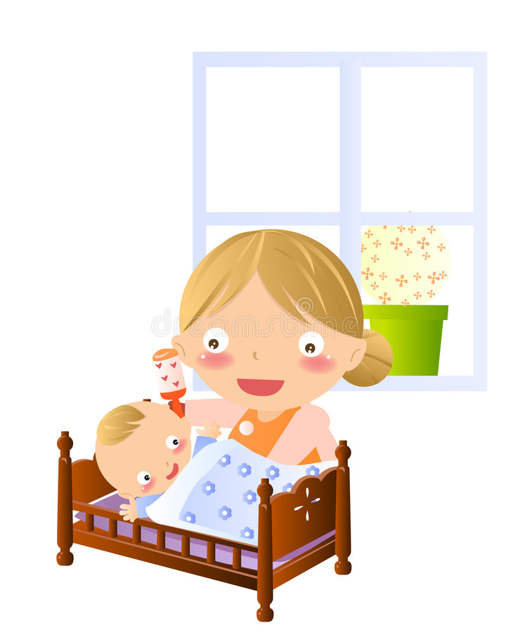 Download Bedtime stories stock vector. Illustration of clip, character - 8542757