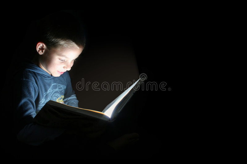 Bedtime story royalty free stock image