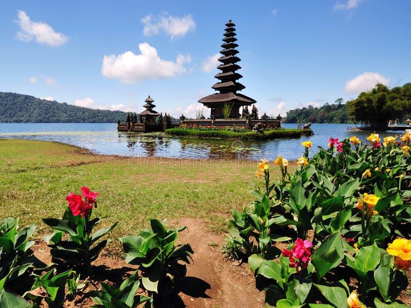 Bedugul Bali do danu de Pura Ulun fotos de stock royalty free
