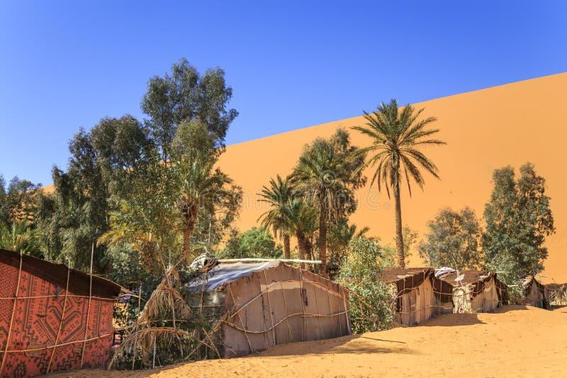 Beduińscy namioty zdjęcia stock