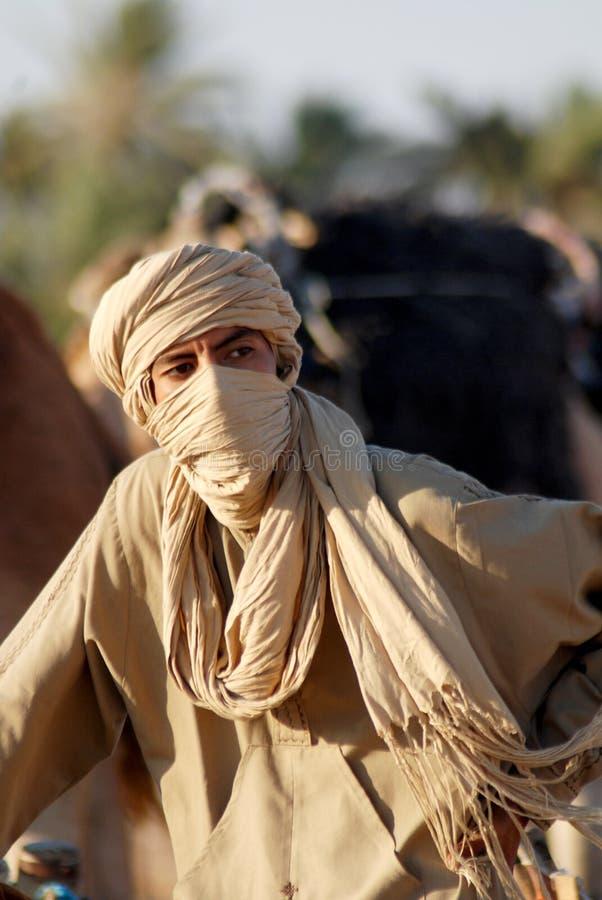 Beduinischer Mann stockfotografie