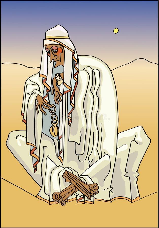 Beduino ilustración del vector
