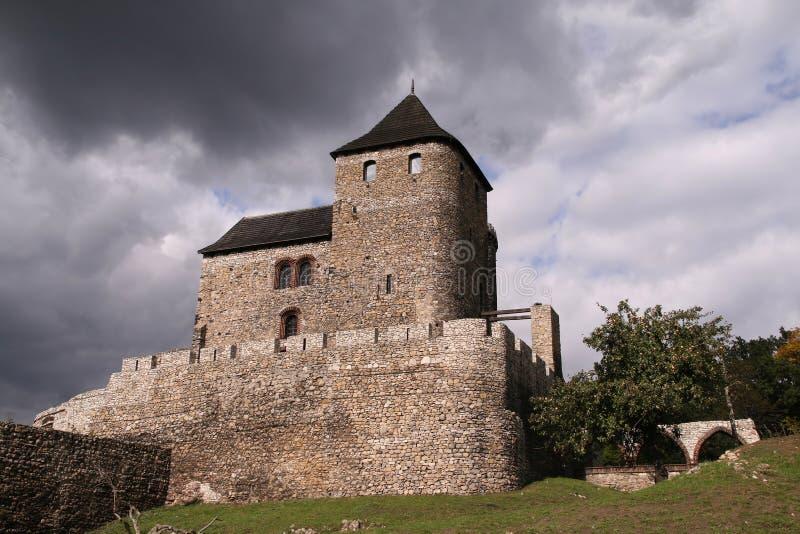 Download Bedzin castle stock image. Image of castle, green, vintage - 6831291