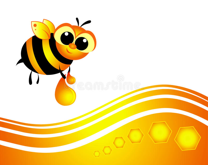 Download Bee stock vector. Image of small, paper, happy, smiles - 20701670