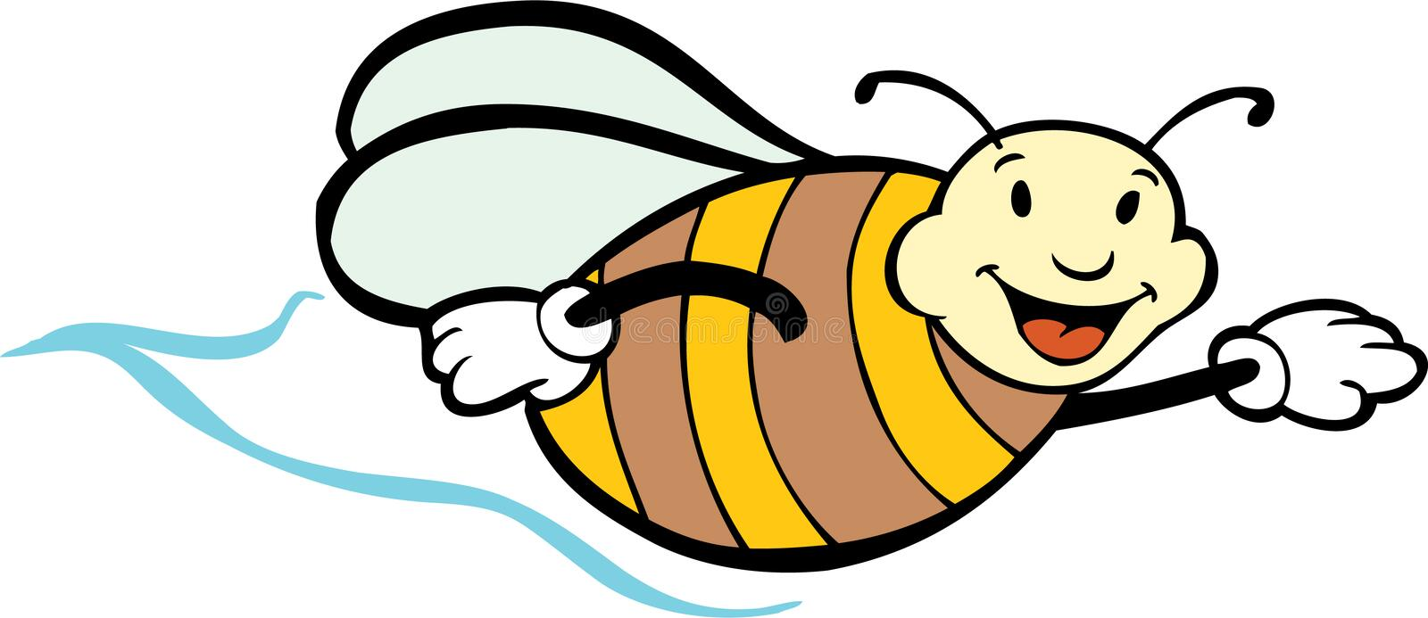 Download Bee stock vector. Illustration of illustration, clipart - 9462122