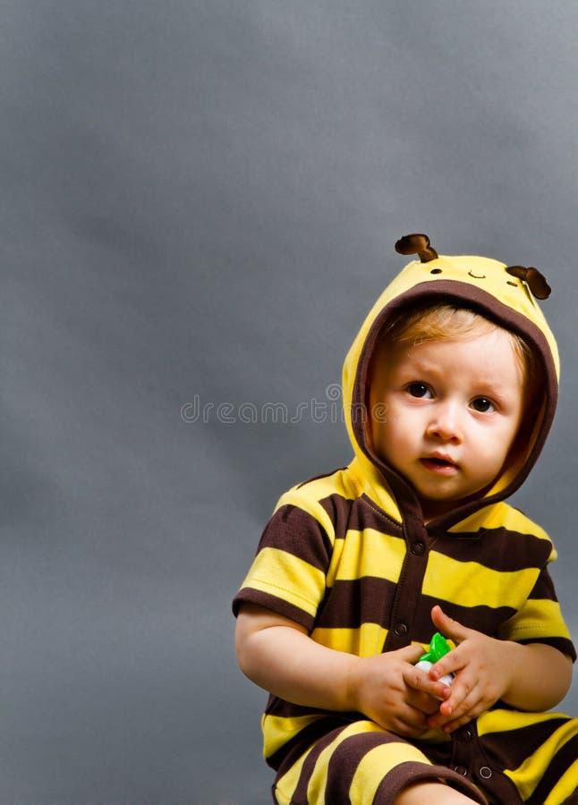 Bee child royalty free stock photos
