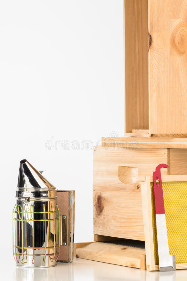 Free Bee Keeping Equipment Royalty Free Stock Images - 53716249