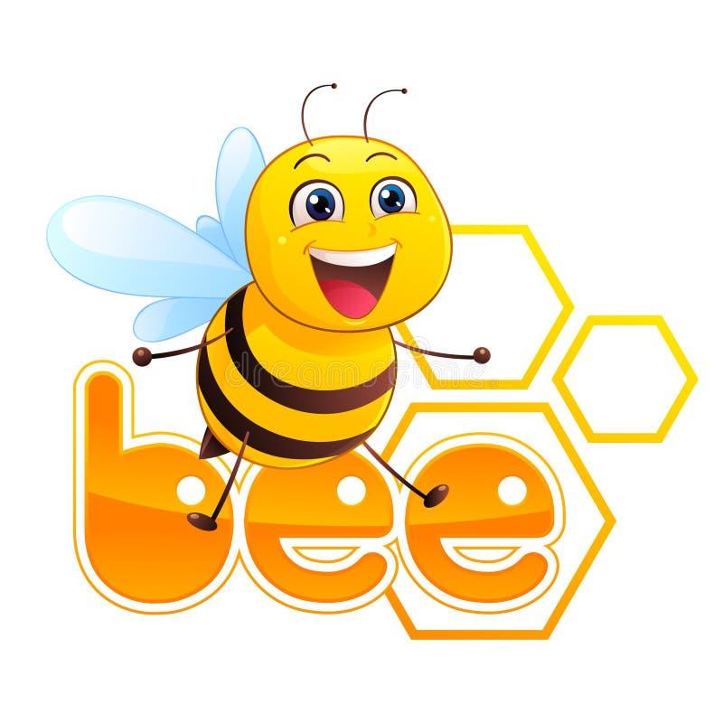 Bee Mascot vector illustration