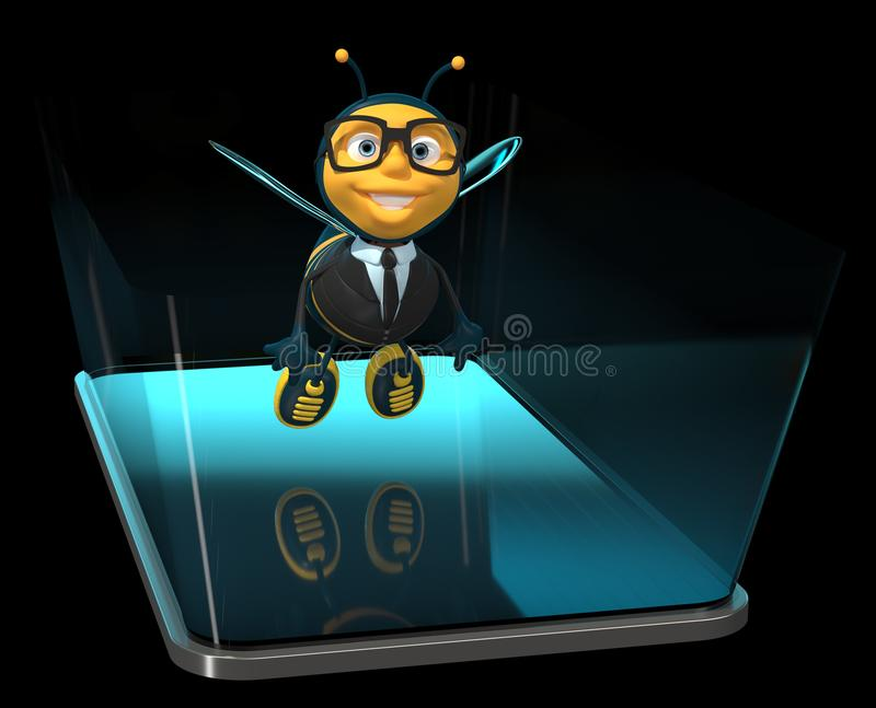 Digital Bee Stock Illustrations – 1,203 Digital Bee Stock