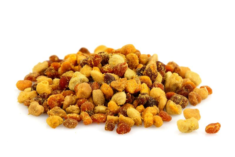 Bee pollen grains isolated royalty free stock photos