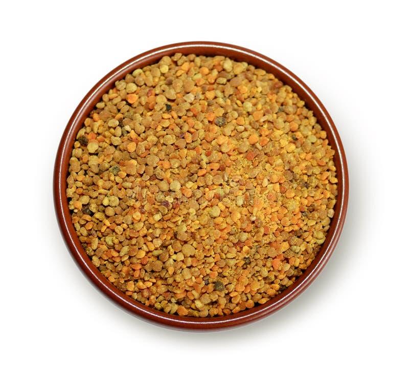 Download Bee pollen granules stock image. Image of polygon, honey - 11328595