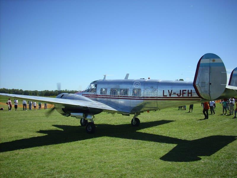 Beechcraft EAA Argentina 2013 fotografering för bildbyråer