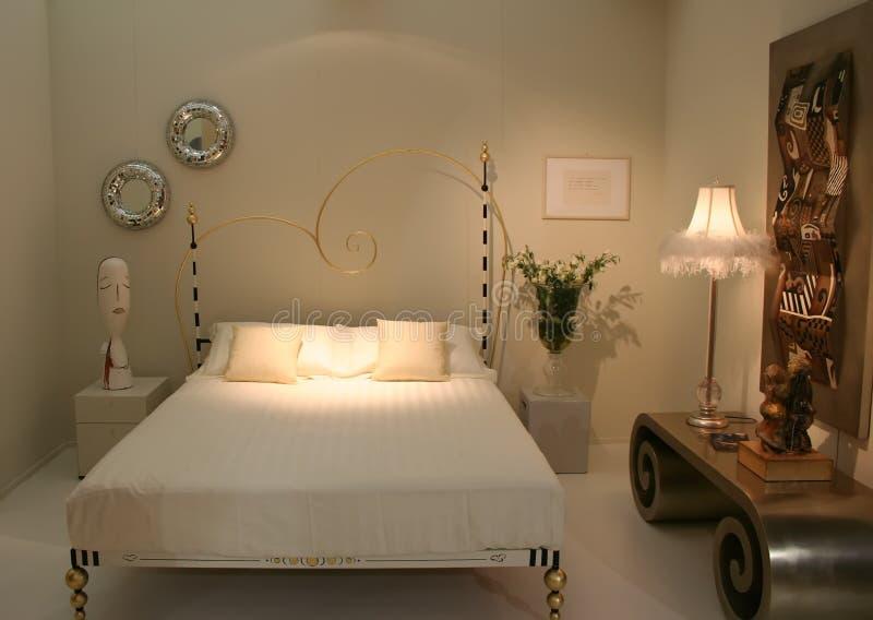 beedroom装饰的想法 库存照片
