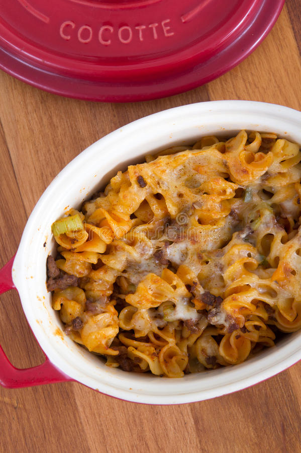 Free Beef And Cheese Rotinis Pastas Stock Photo - 53228770