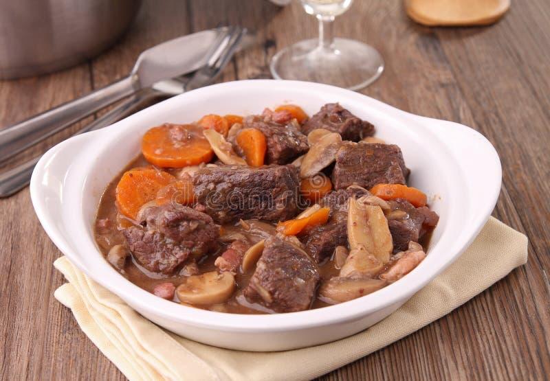Beef Bourguignon Stock Images