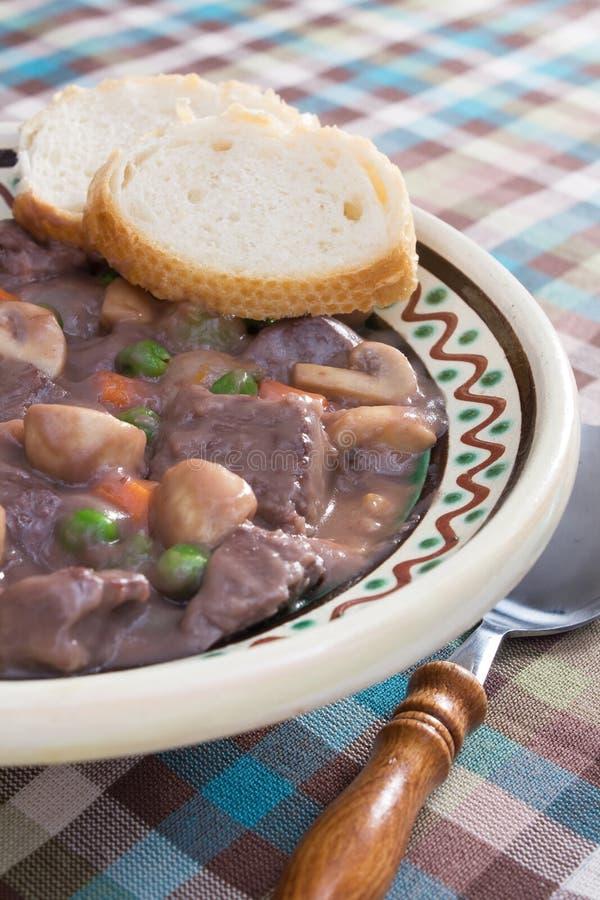 Download Beef Burgundy stock photo. Image of food, rustic, beef - 12351032
