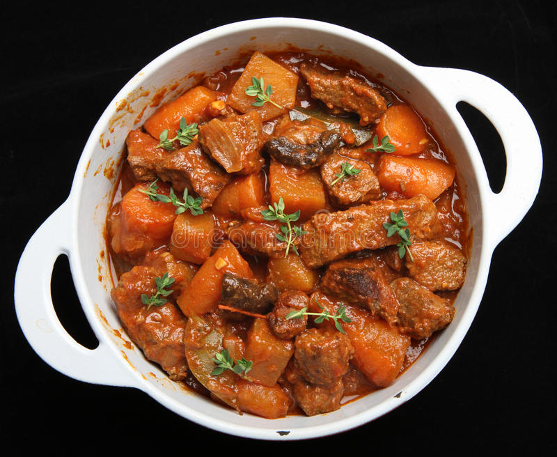 Download Beef Casserole Stew & Vegetables Stock Image - Image: 17901561