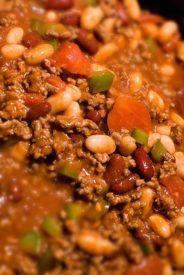 Download Beef chili con carne stock image. Image of white, sauces - 1702865