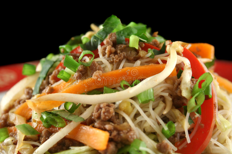 Download Beef Chow Mein 3 stock image. Image of chinese, flavor - 3090725
