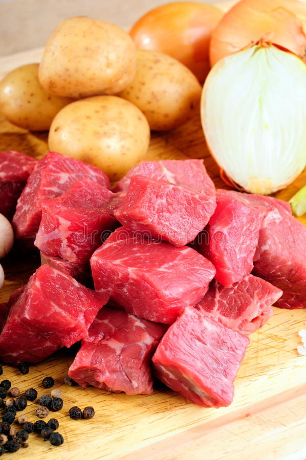 Download Beef Cubes Royalty Free Stock Photo - Image: 11740005