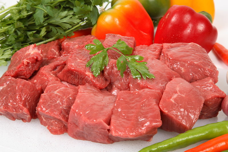 Download Beef cubes stock image. Image of cooking, cookery, protein - 7813915