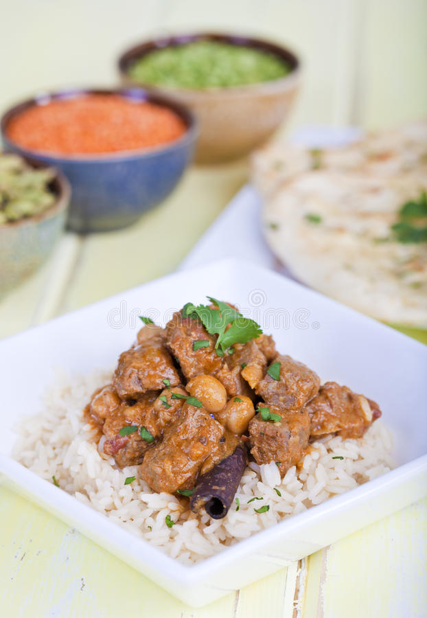 Beef curry royalty free stock image