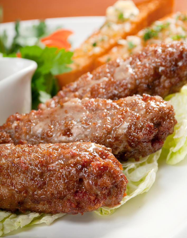 Download Beef Cutlets With Vegetableon Stock Image - Image: 22131335