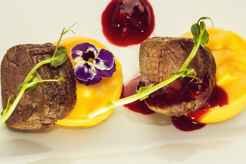 Beef fillet mignon royalty free stock images