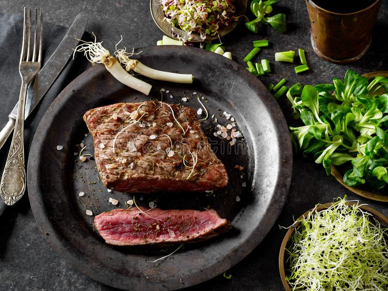 Beef meat closeup stock photography
