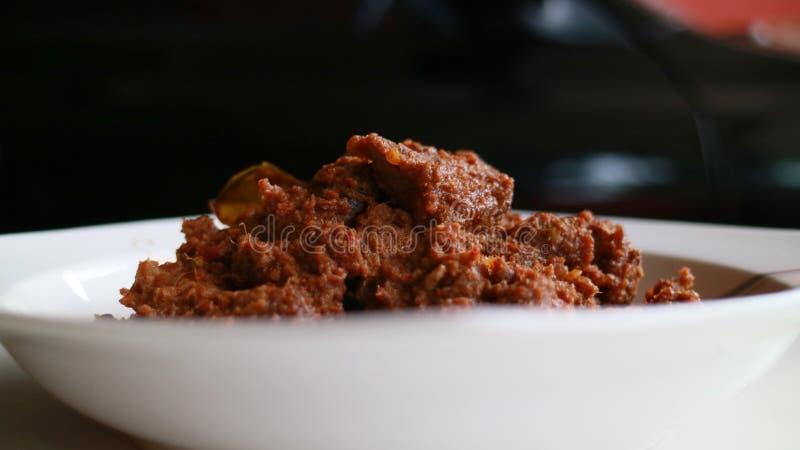 Beef Rendang royalty free stock image