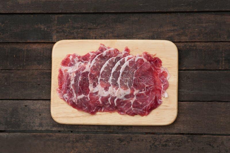 Beef Rib Eye Steak stock image