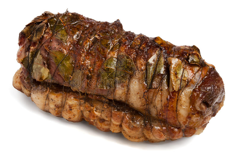 Beef roll royalty free stock photography