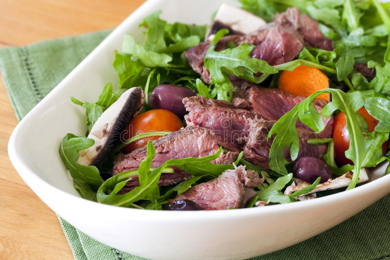 Download Beef Salad stock image. Image of sliced, cherry, vegetables - 19016997