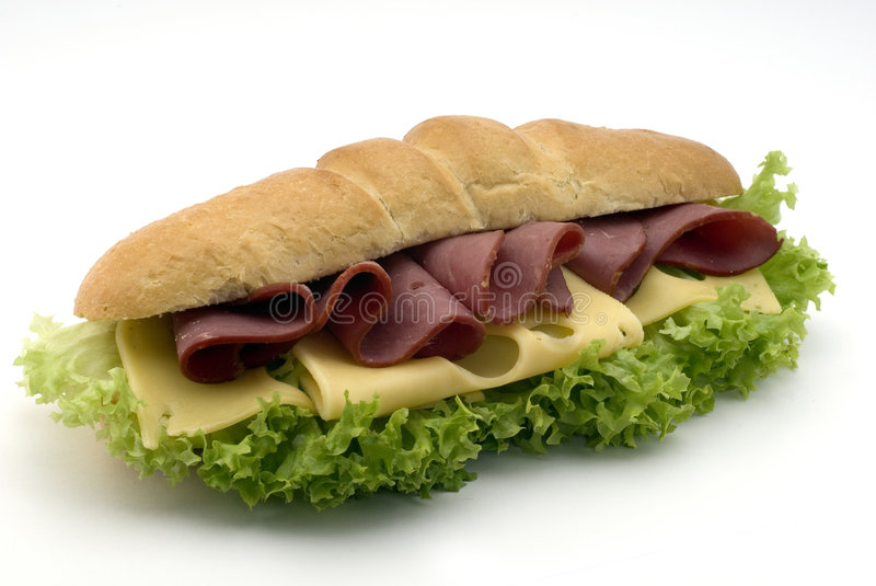 Download Beef sandwich stock image. Image of hole, junk, pepper - 6675649