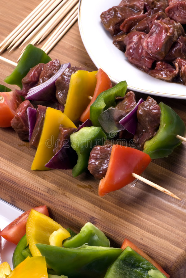 Download Beef Shishkabobs 1 Stock Image - Image: 2039061